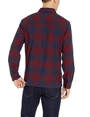 Goodthreads Heavyweight Shirt red Plaid, XX-Large