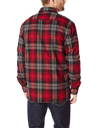 Carhartt Men's Lined Shirt Jacket, Dark