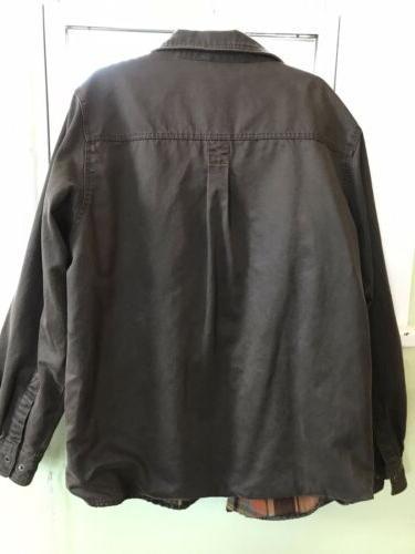Legendary Men's Flannel Rugged Shirt Jacket