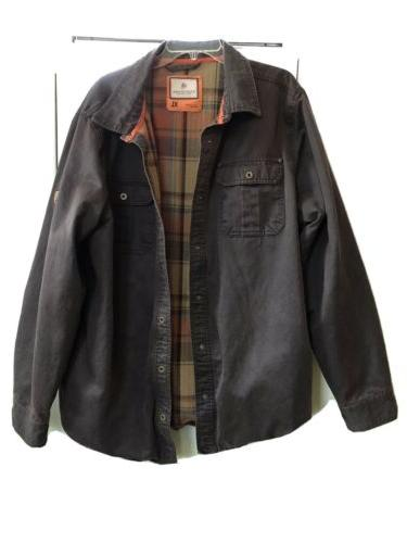 men s journeyman flannel lined rugged xl