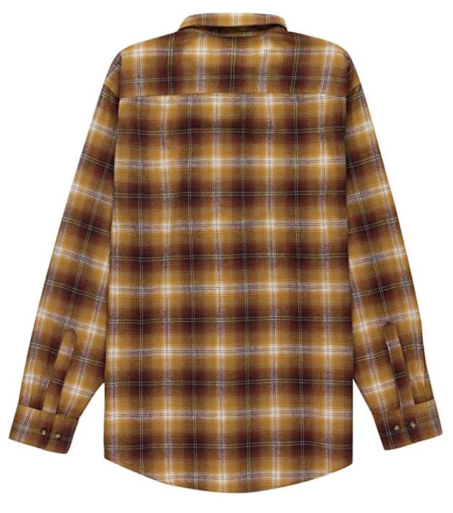 Pendleton Lister Up Flannel Brown Ombre