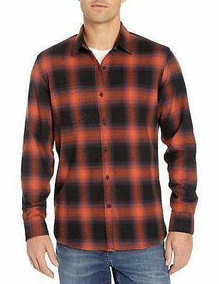 Goodthreads Flannel Black Shadow XXL