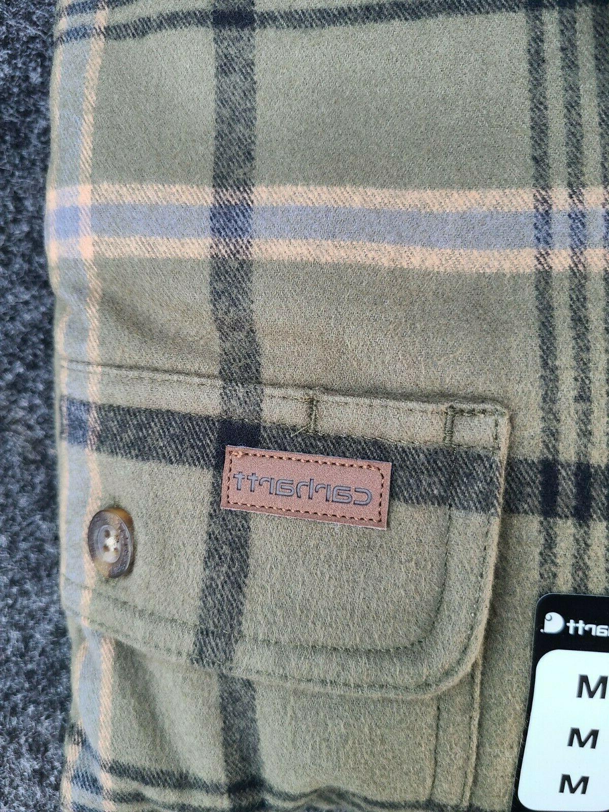 Carhartt Men's Long Sleeve Cotton 100% Pocket Shirts