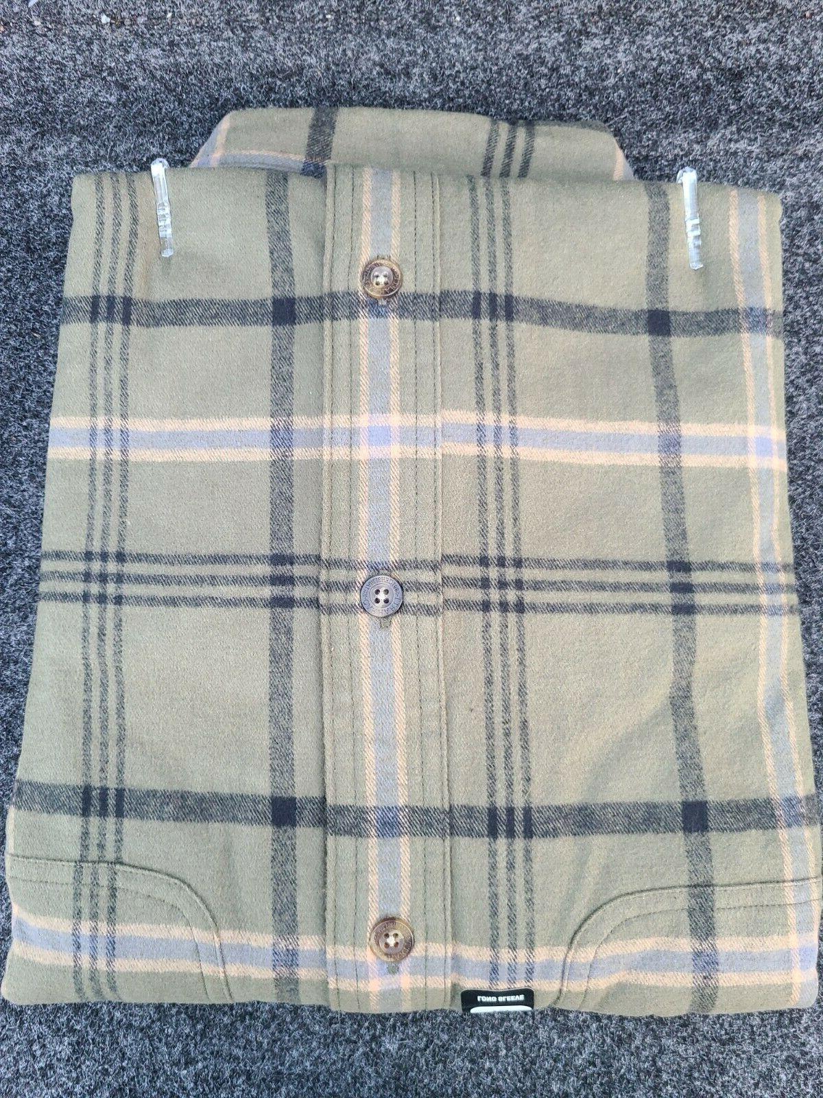 Carhartt Men's Cotton Shirts Flannel M
