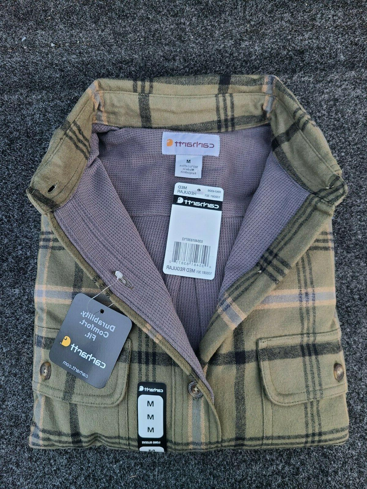 Cotton 100% Shirts Flannel Size