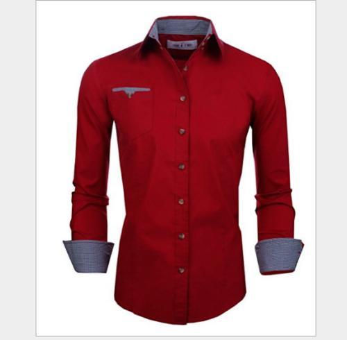 Men's Sleeve Fit Cotton Slim Doublju Button