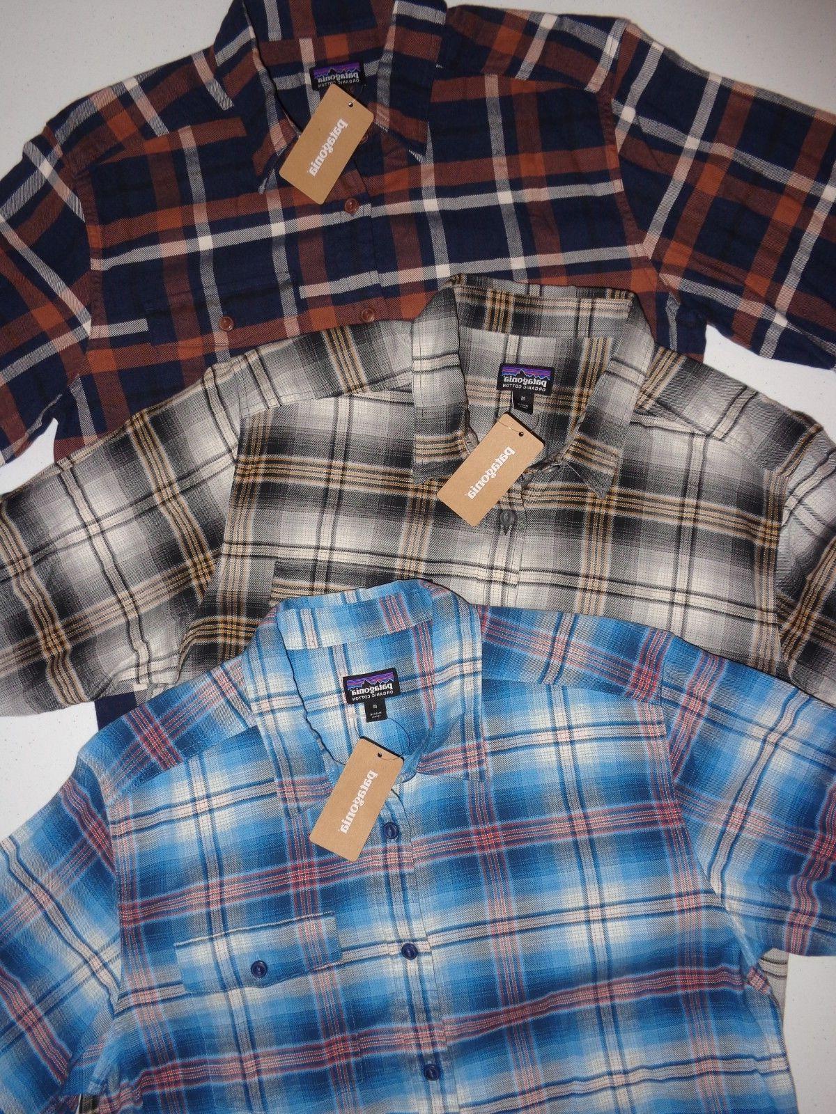 men s long sleeved lightweight fjord flannel