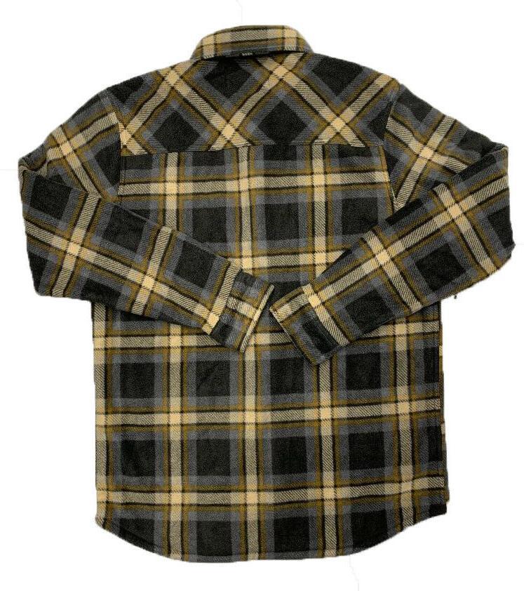 Men's Foundry Fleece Jacket- Plaid