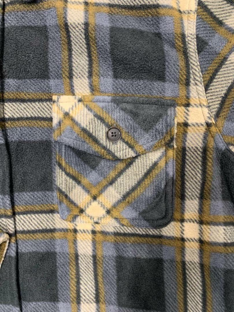 Men's Fleece Super Jacket- Grey/Brown