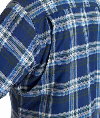 Backpacker Men's 100% Cotton Pocket Quilt Lining Shirt. BP7002