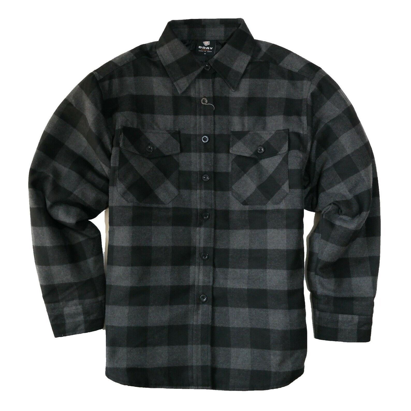 men s plaid flannel button down casual