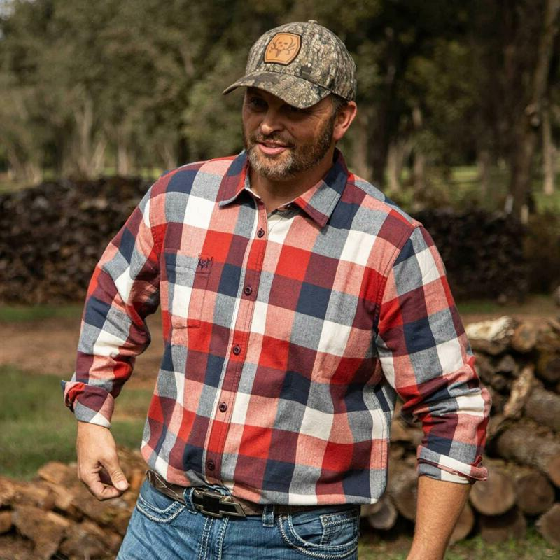 Flannel - Sleeve Casual - Relaxe