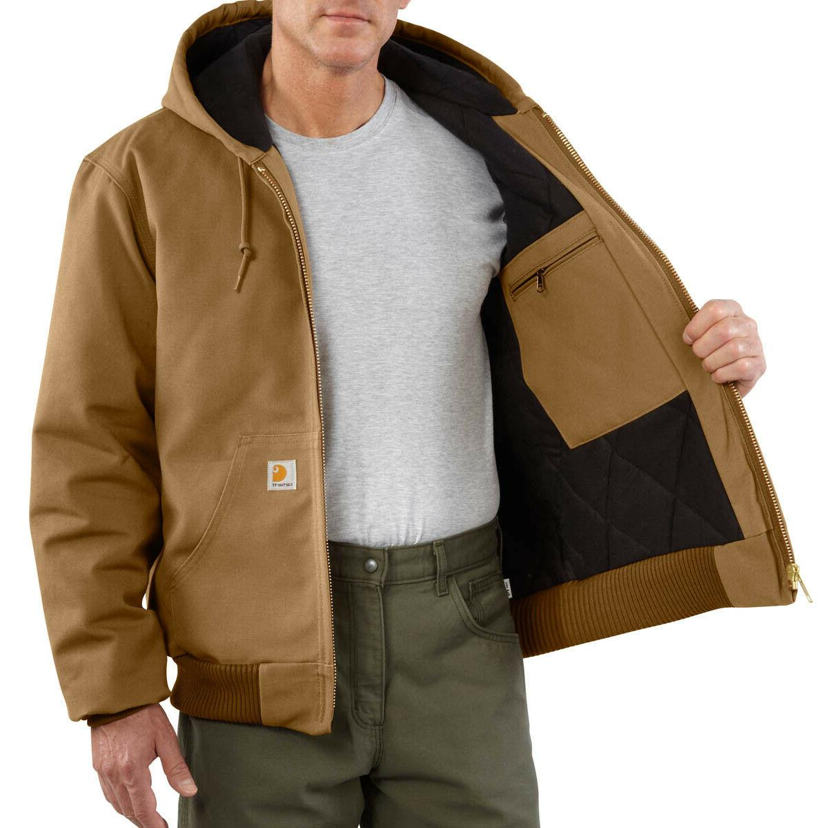 Carhartt Quilted Duck Big & J140