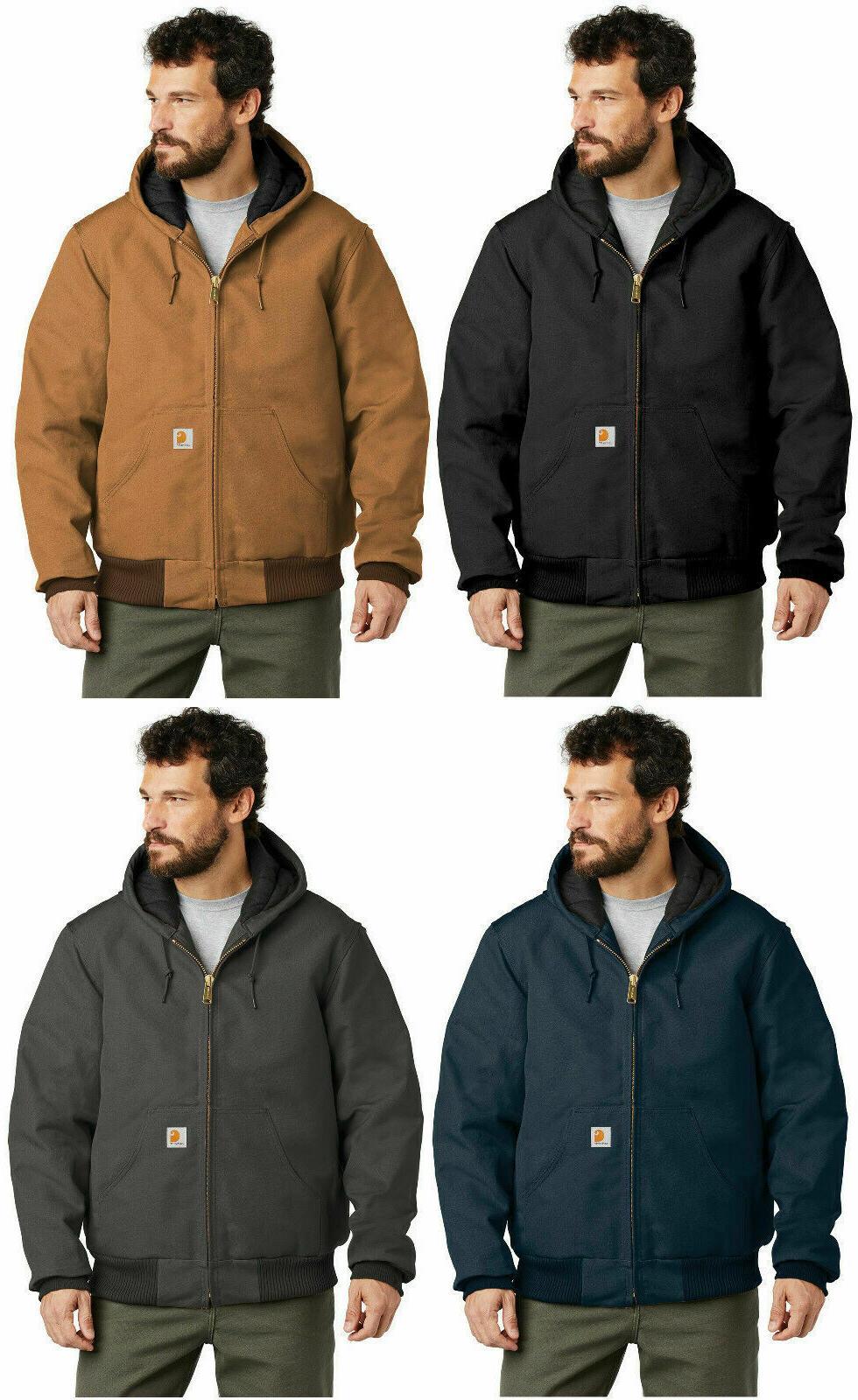 men s quilt lined duck active jacket