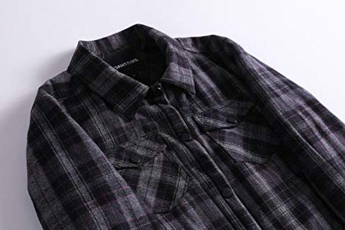 Zenthace Shirt Grey/Black/Purple