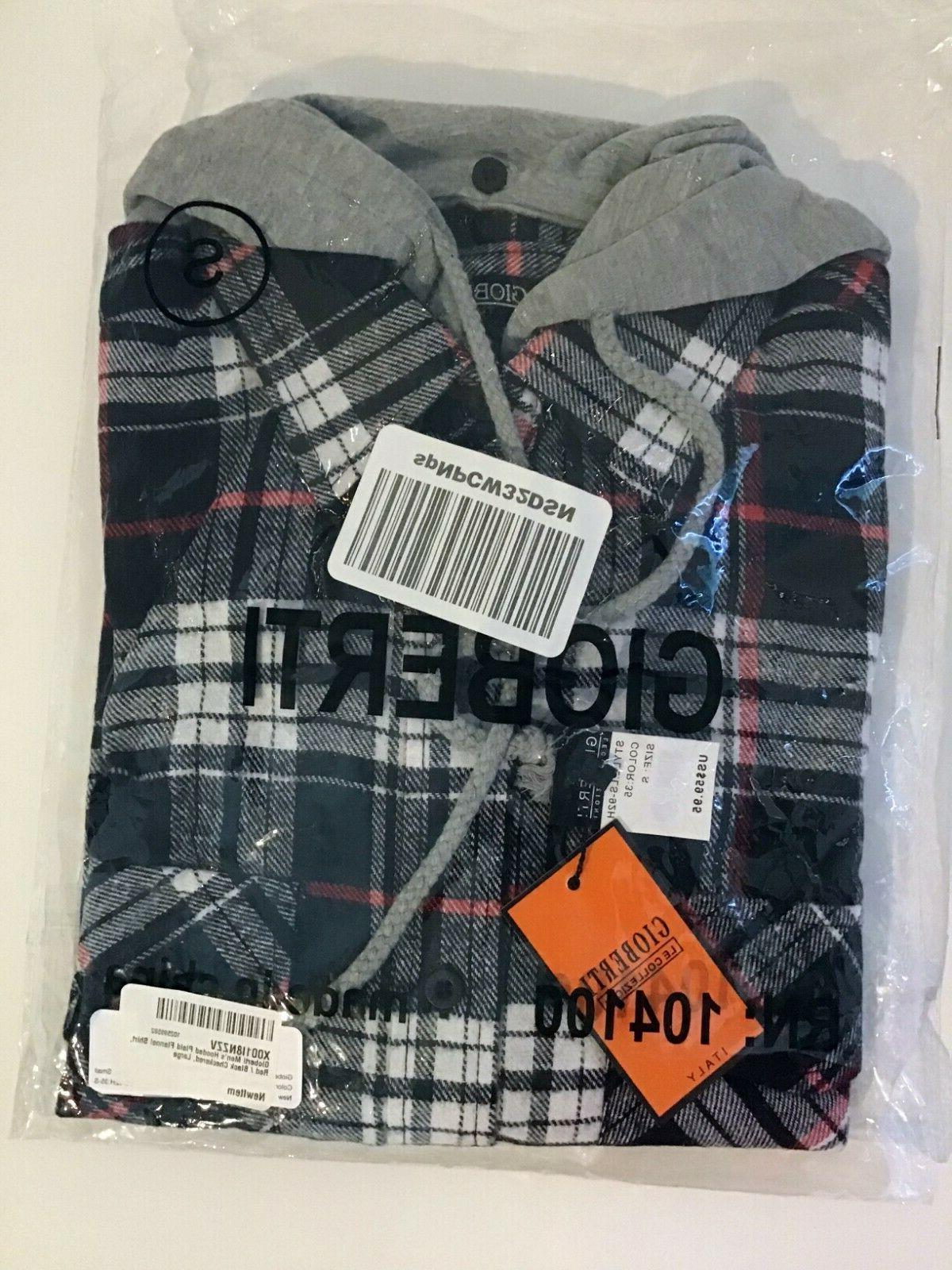 Gioberti Plaid Flannel Button Down Small