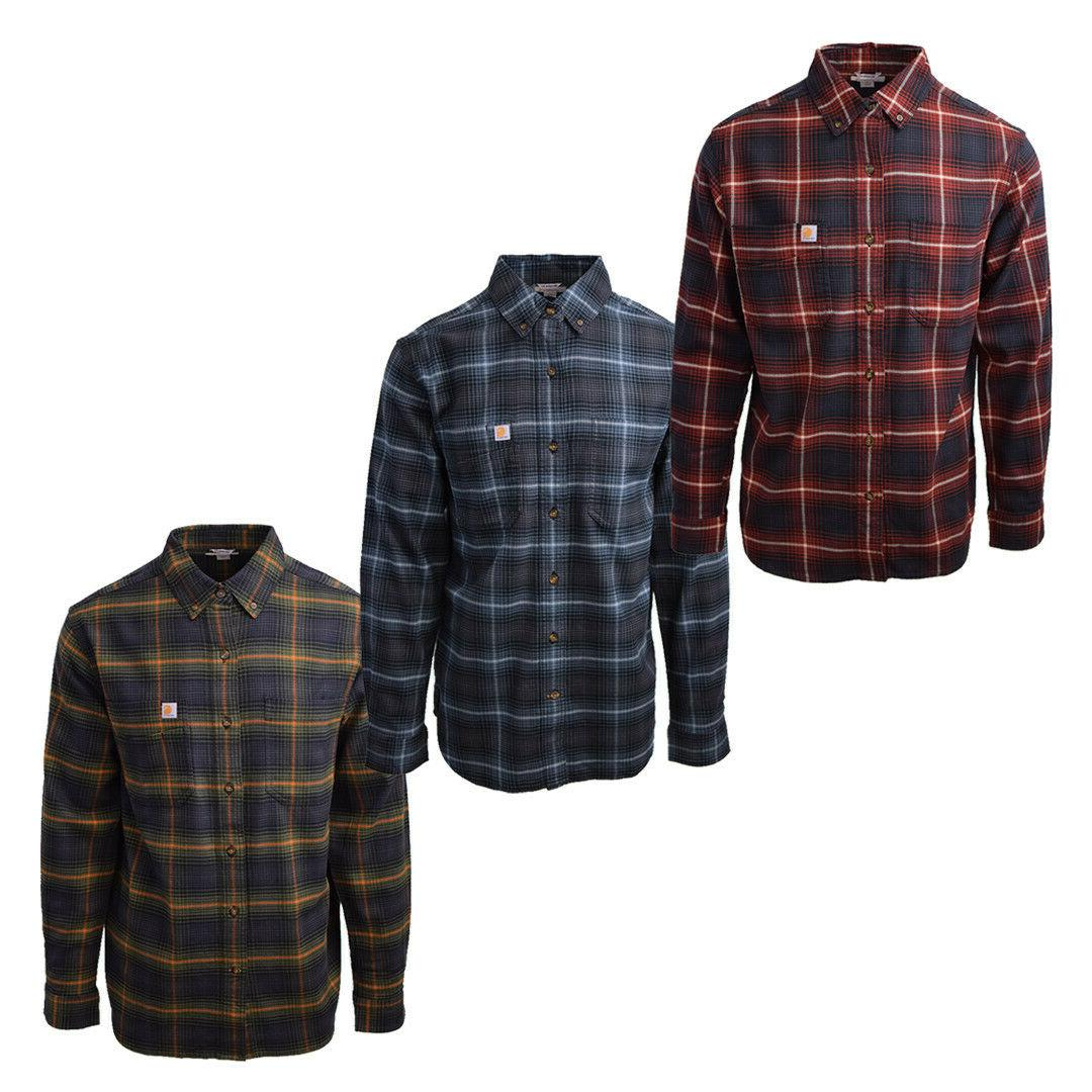 Carhartt Men's Rugged L/S Flannel Shirt