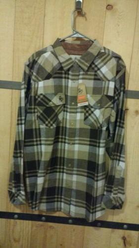Legendary Men's Western Flannel Size: L