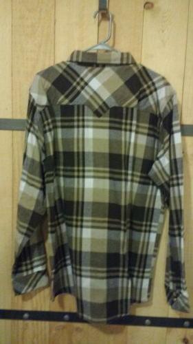 Legendary Western Flannel L NWT