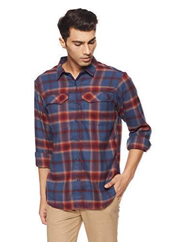 men s silver ridge flannel long sleeve