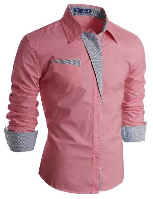 men s slim fit cotton flannel tailored
