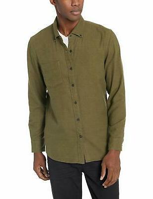 Goodthreads Slim-Fit Plaid Brushed Shirt, XXX-Large