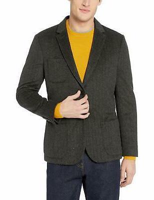men s slim fit wool blazer charcoal