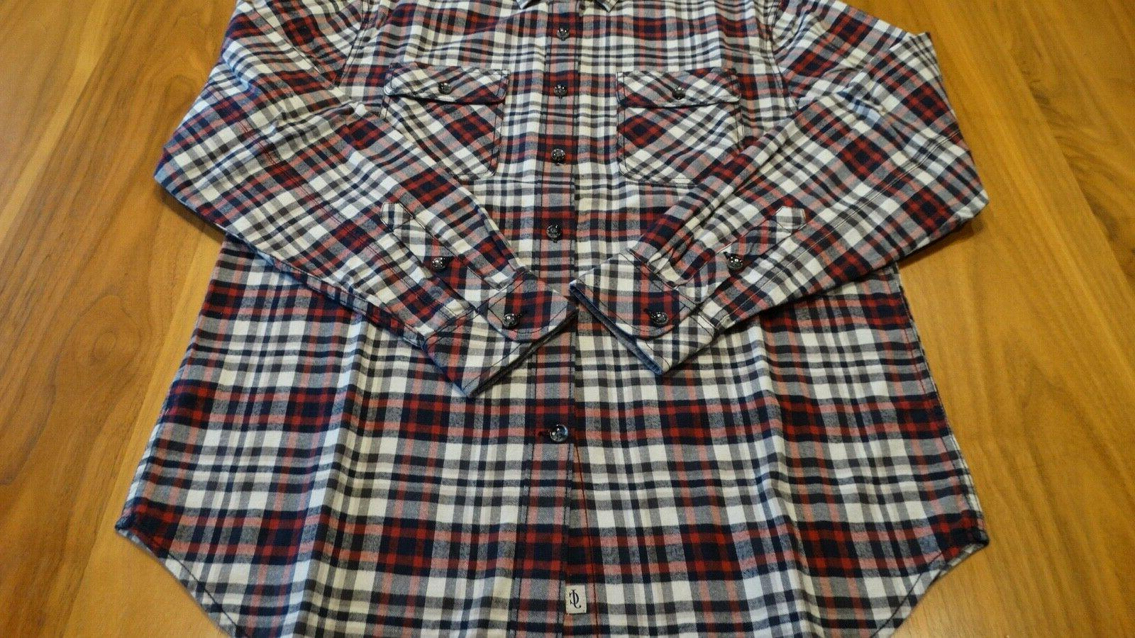 James Campbell Men's Flannel Shirts | Medium | Brand Never Worn | Lot of