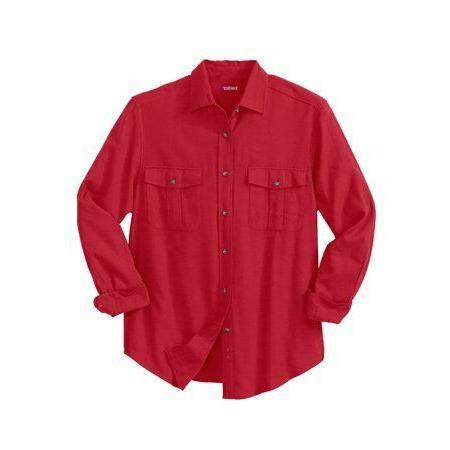 KingSize Brushed Long Shirt Sizes