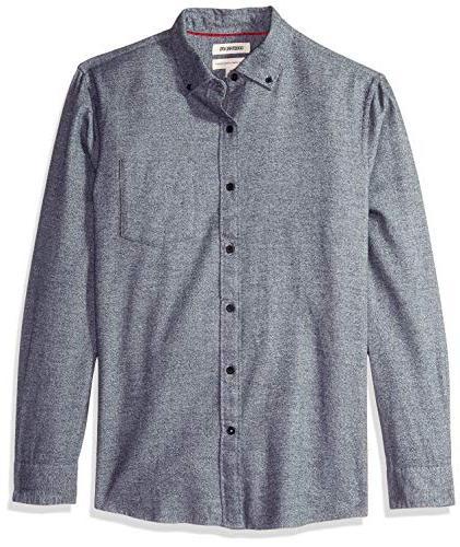 men s standard fit long sleeve heather