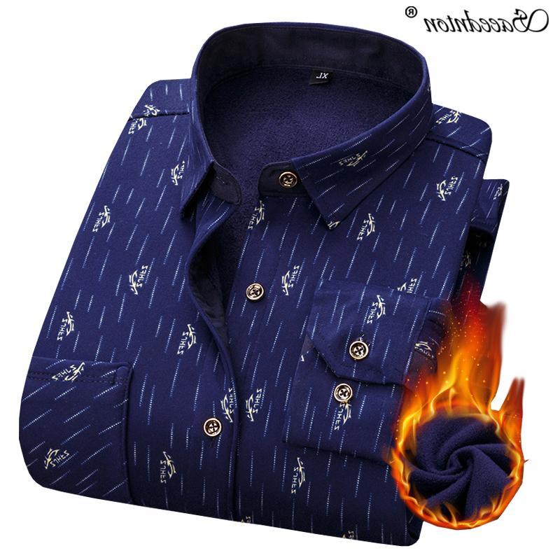 Men Sleeve Men's Business Casual Plaid Dress <font><b>Shirts</b></font> Social Masculina