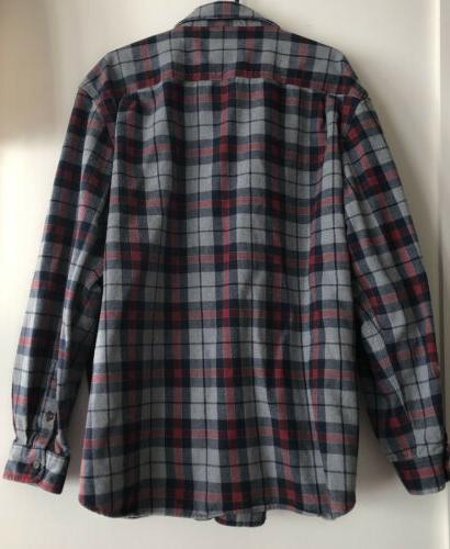 Carhartt Plaid Heavy Sleeve Button Front