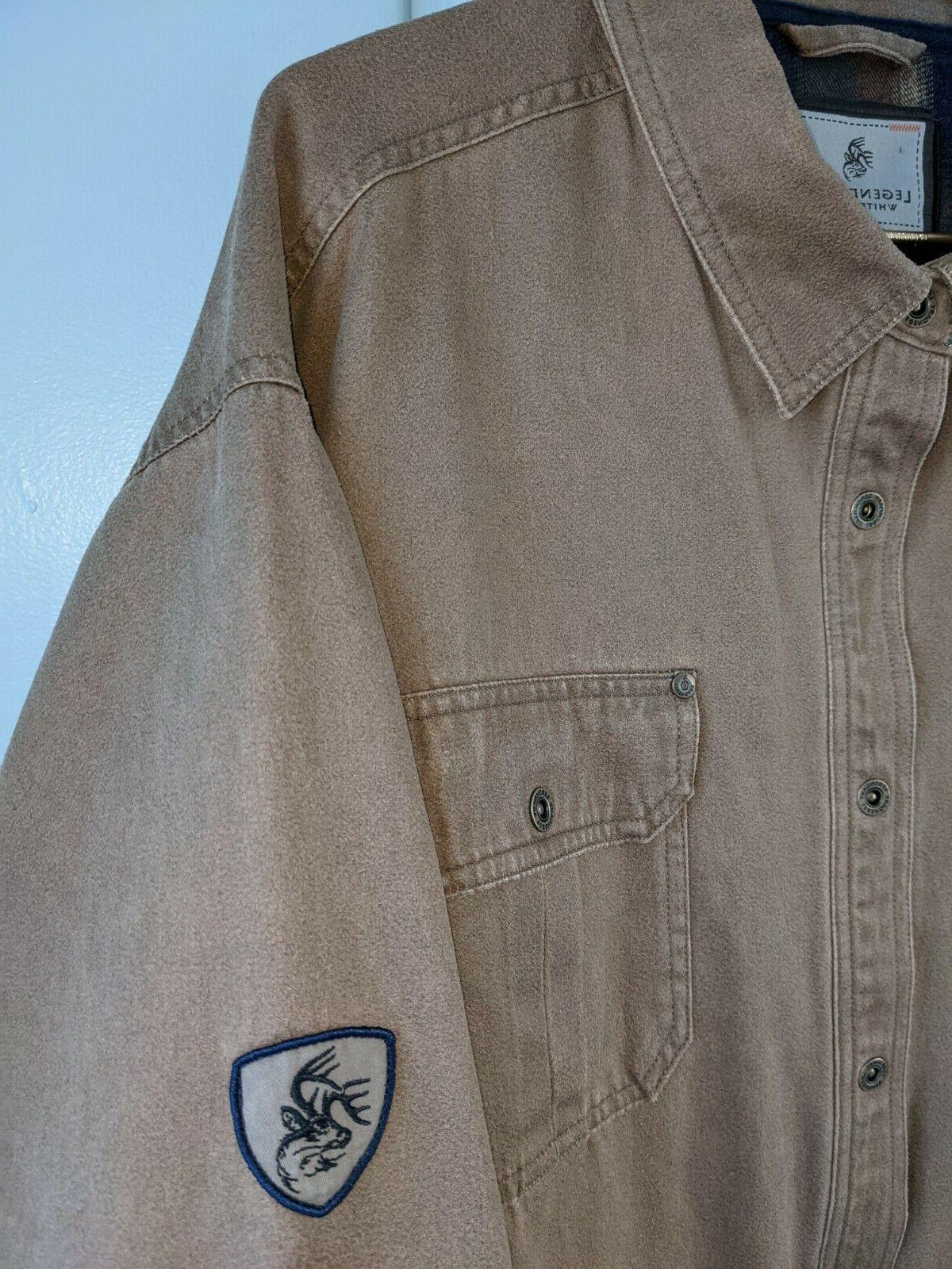 Legendary Journeyman Shirt Flannel Lined