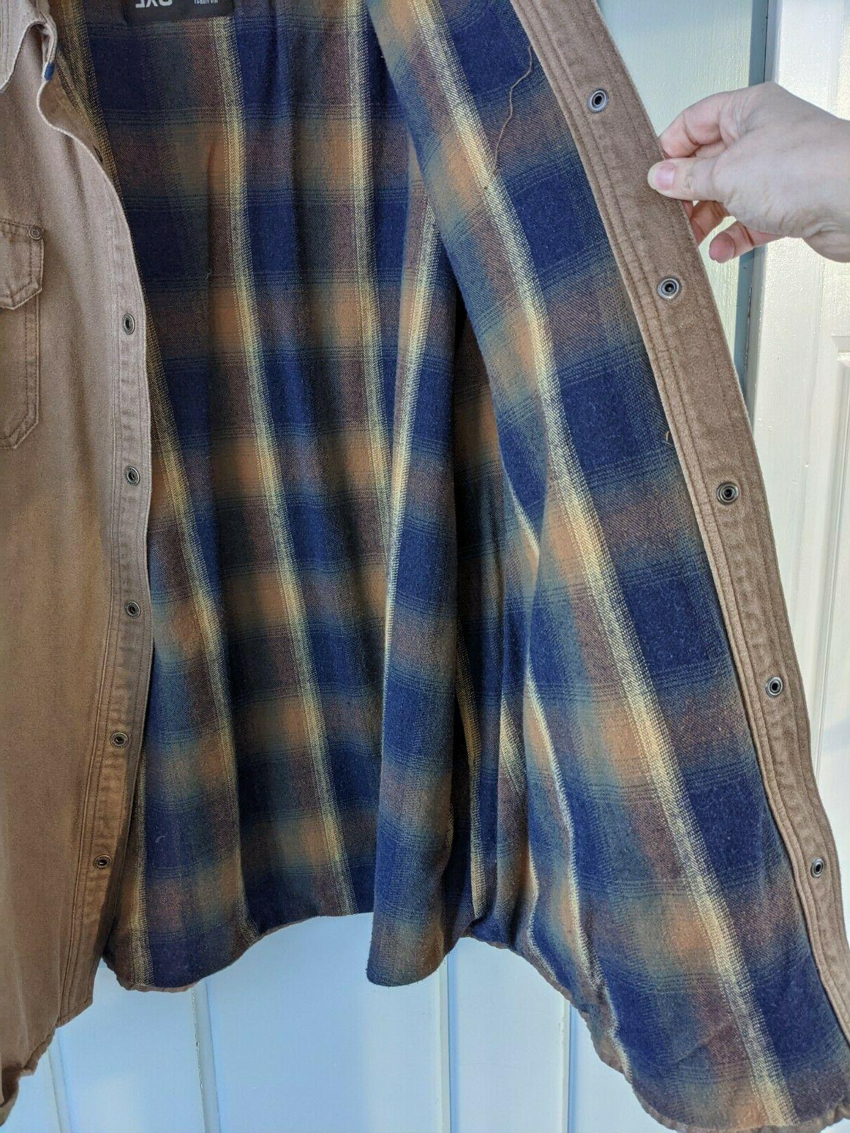 Legendary Journeyman Shirt Flannel Lined Rugged