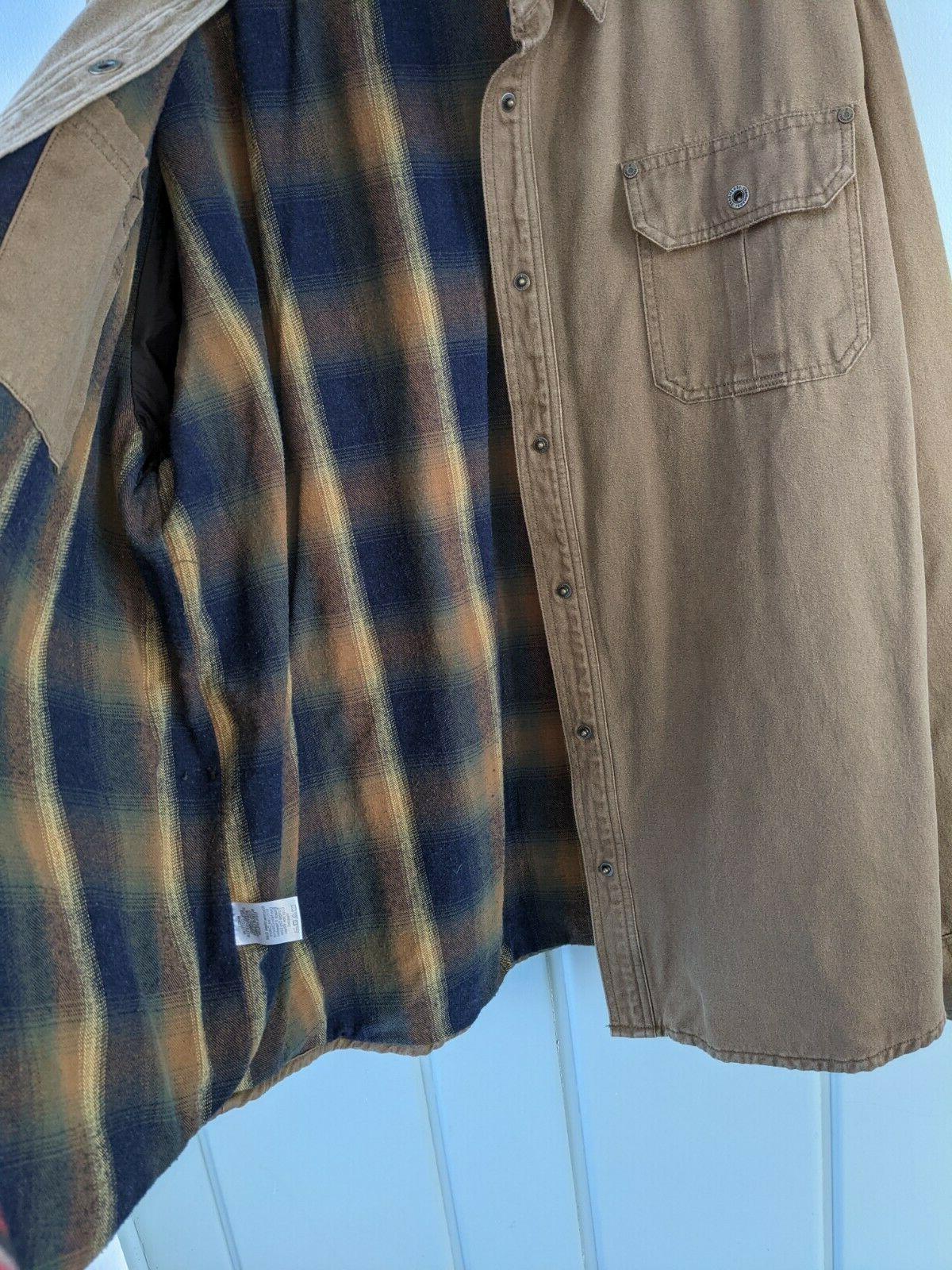 Legendary Journeyman Jacket Jac Flannel Lined Rugged