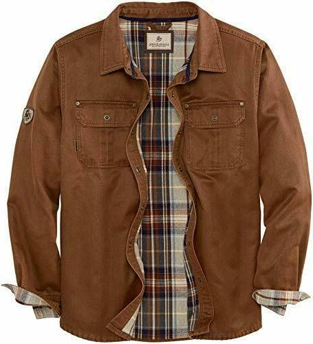 mens 3xl journeyman shirt jacket jac flannel