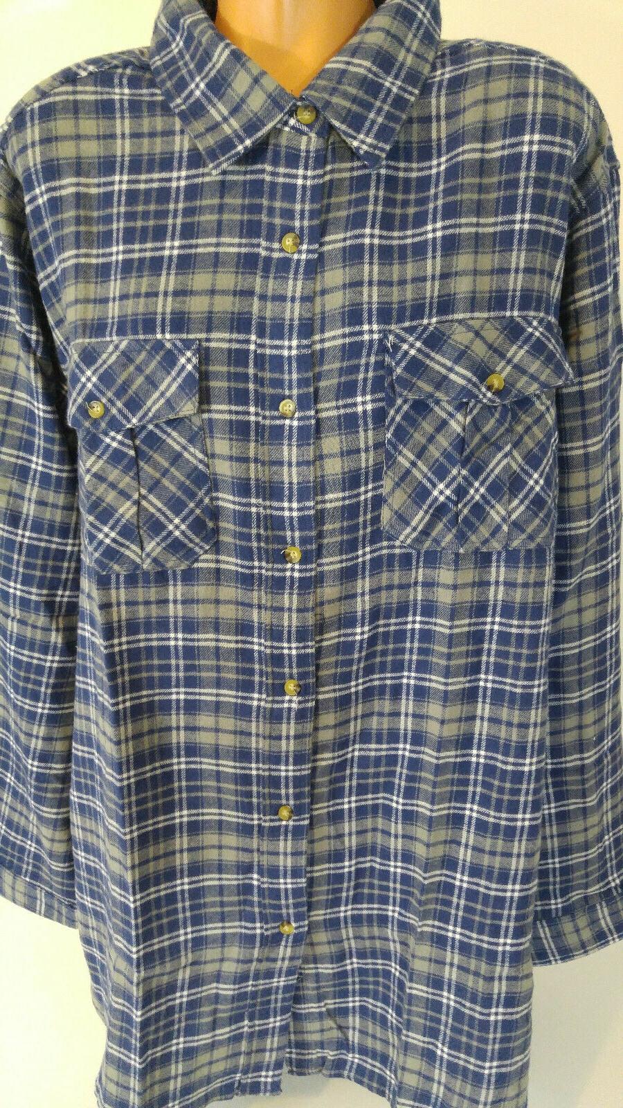 mens 3xl tall long sleeve flannel shirt