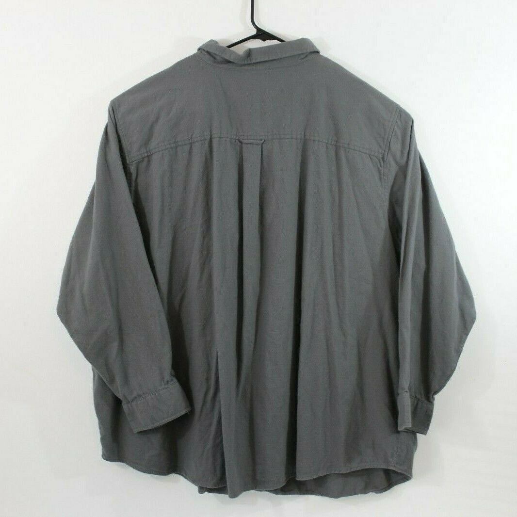 KING SIZE Long Sleeve Dark Flannel XXXXXL