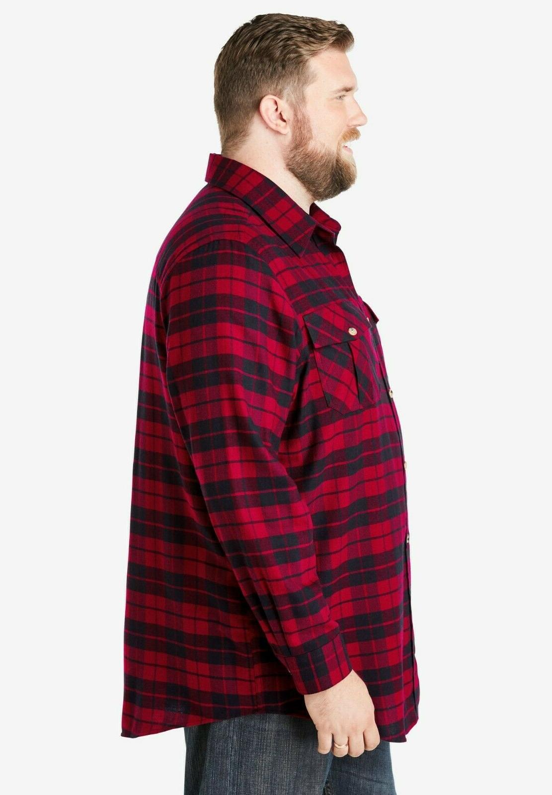 Mens KINGSIZE Brand Flannel colors to choose