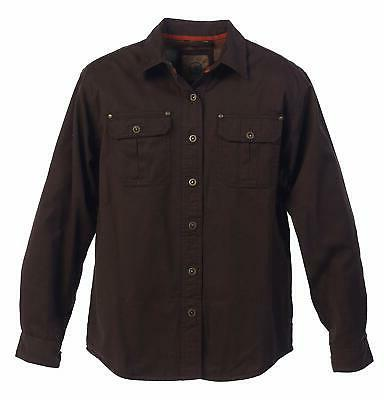 mens brown size xxl flannel lining soft