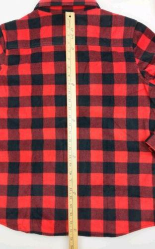 Legendary Whitetails Camp Flannel Shirt Red and XL