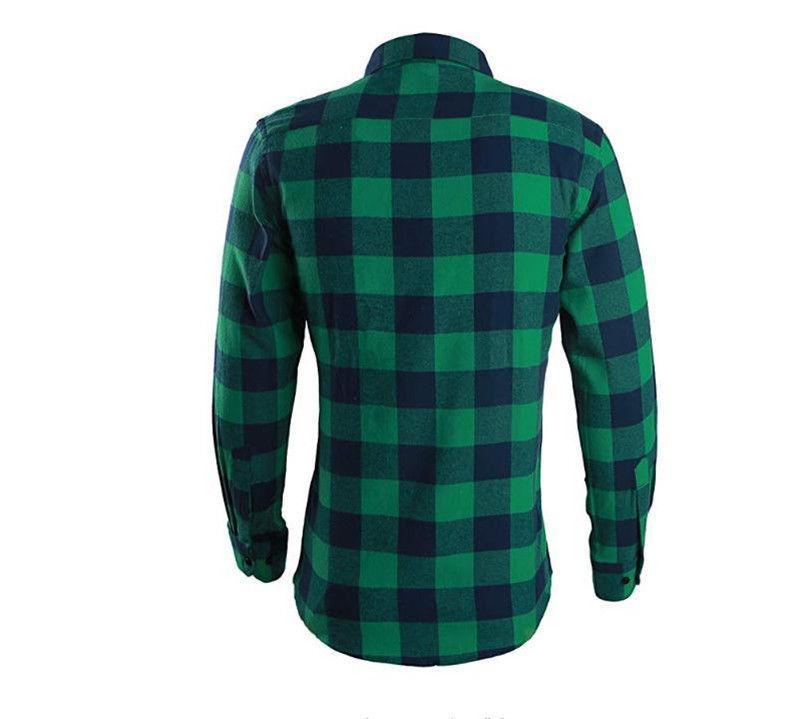 Mens Sleeve Button Cotton Shirt