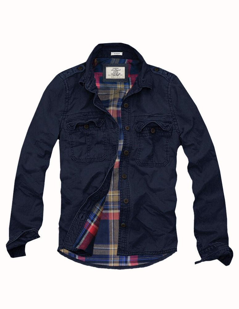mens cali holi military muscle fit flannel