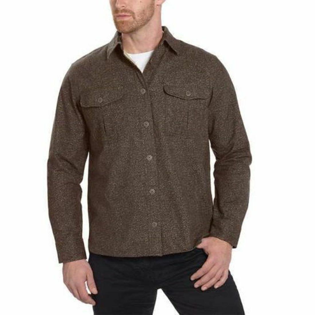 Freedom Foundry Heathered Flannel Shirt, Various Colors/Sizes