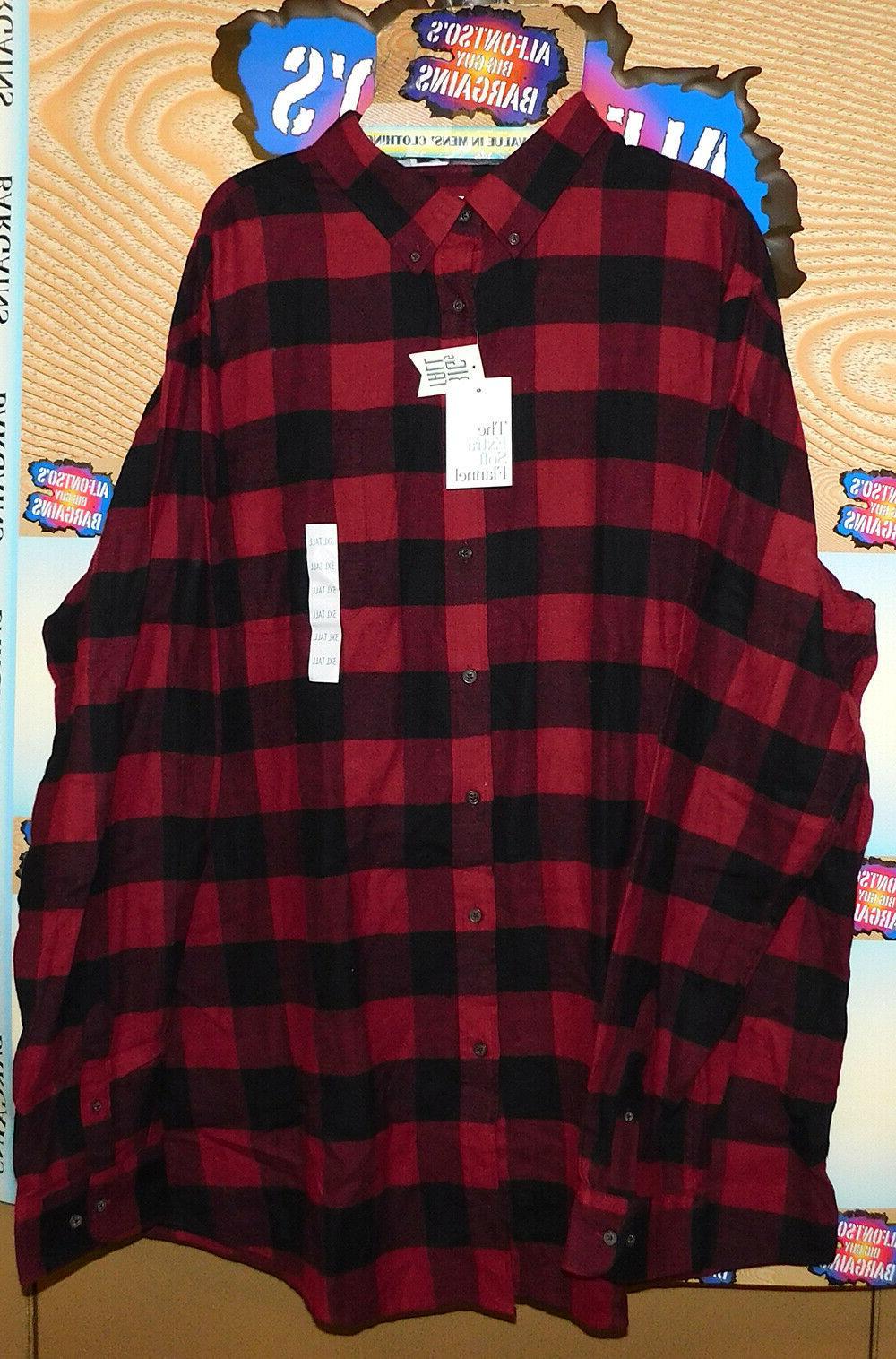 Mens Croft & Extra Flannel Shirts Reg$13.89 B&T Free Shipping