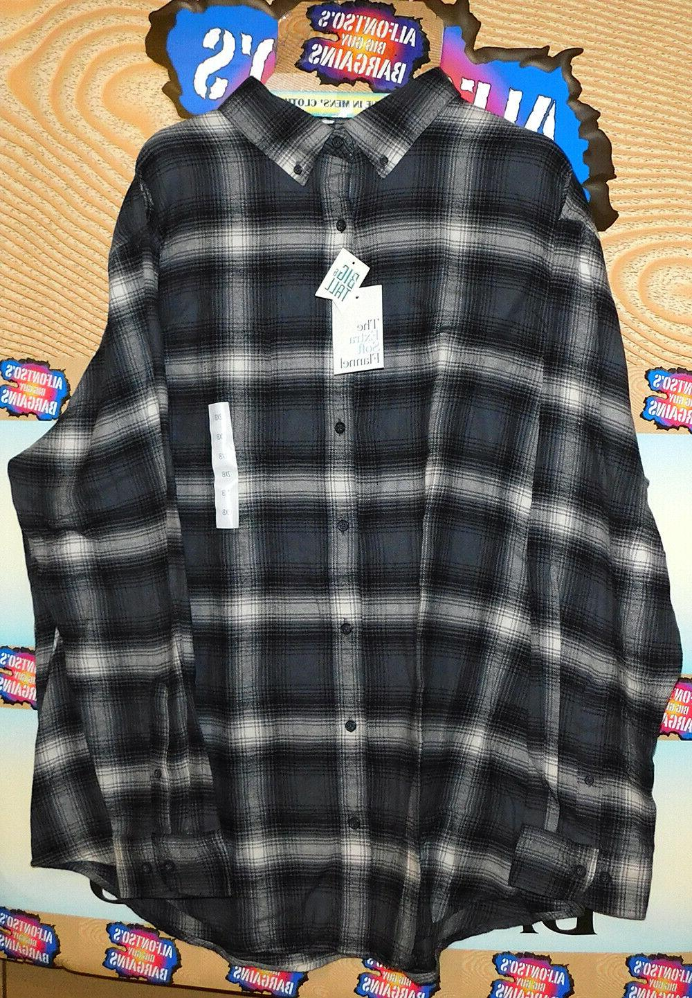 Mens Extra Flannel Reg$13.89 $15.89 Shipping