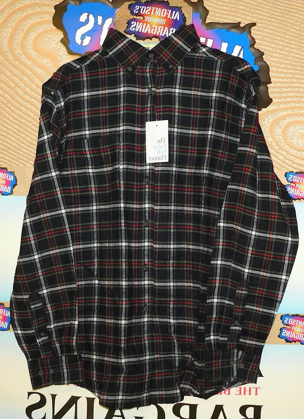 mens croft and barrow extra soft flannel