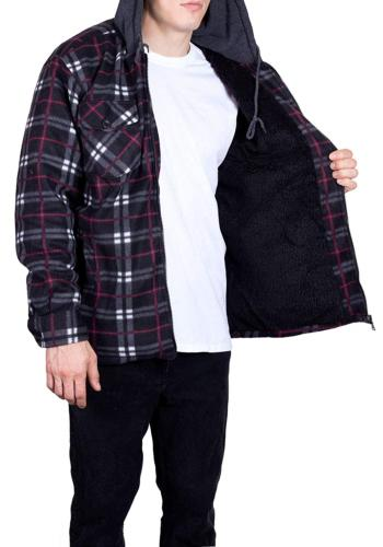 Mens for Fleece Lined 4X Chili
