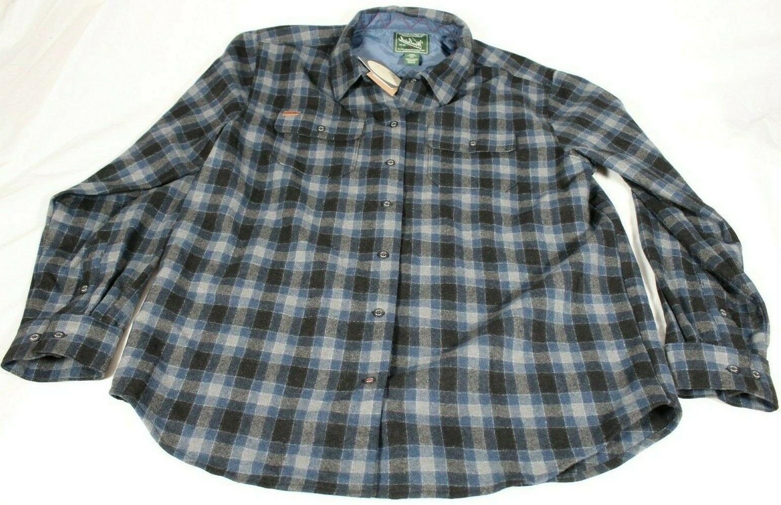 mens flannel shirt plaid size l long