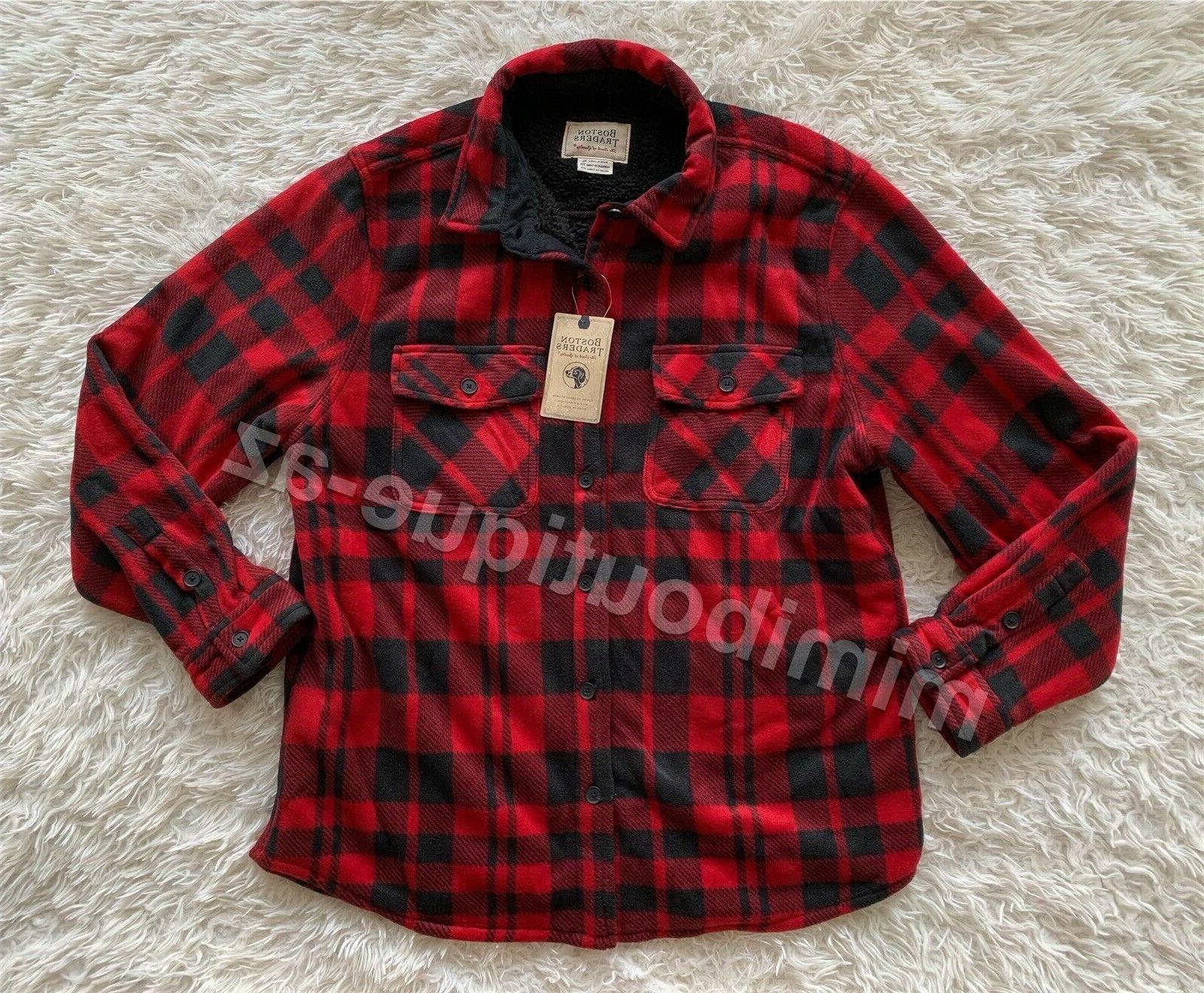 mens flannel shirt rio red black plaid